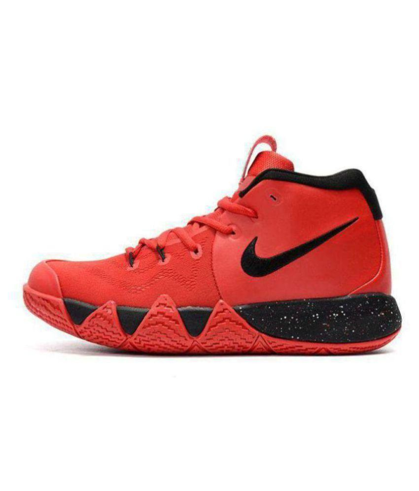sale retailer aeafe 3e613 Nike Nike Kyrie 4 Red Black Low ankle Male Red