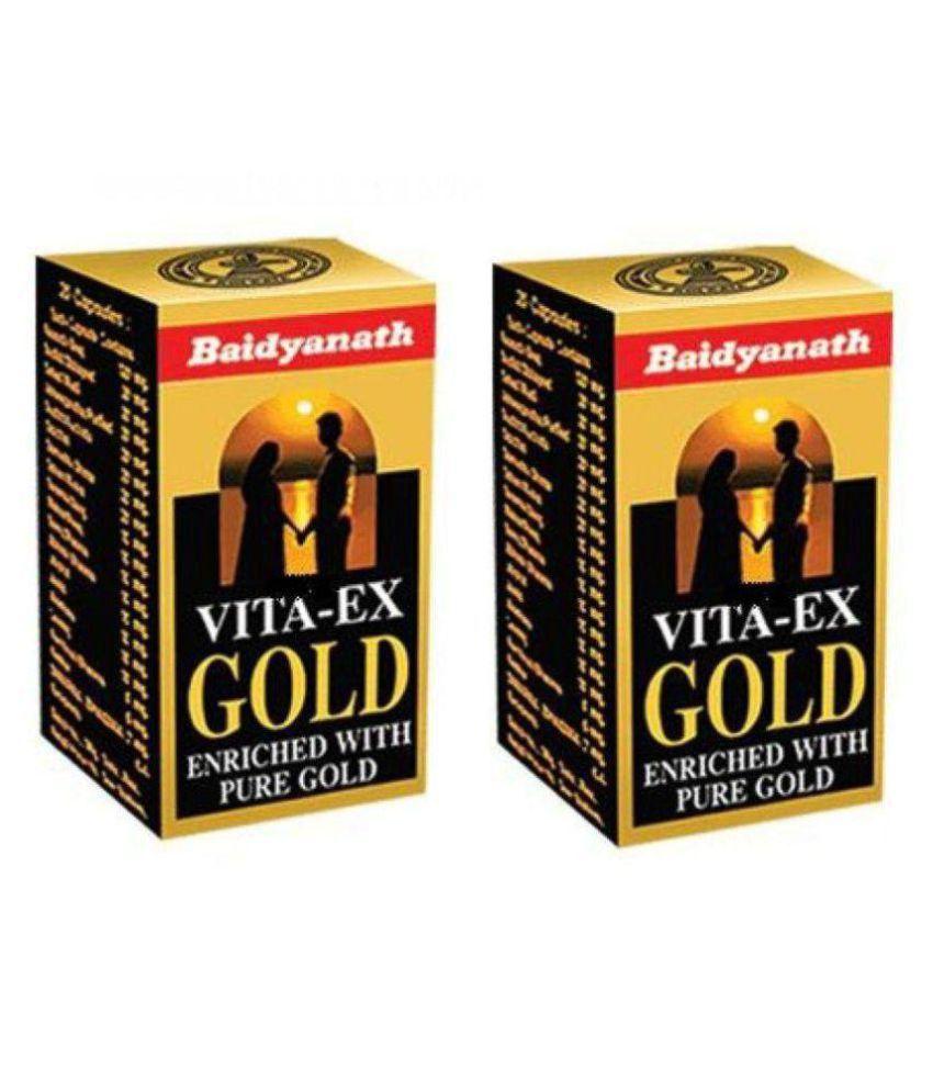 Ayurveda Baidyanath Vita Ex Gold Capsule 20 no.s Pack Of 2