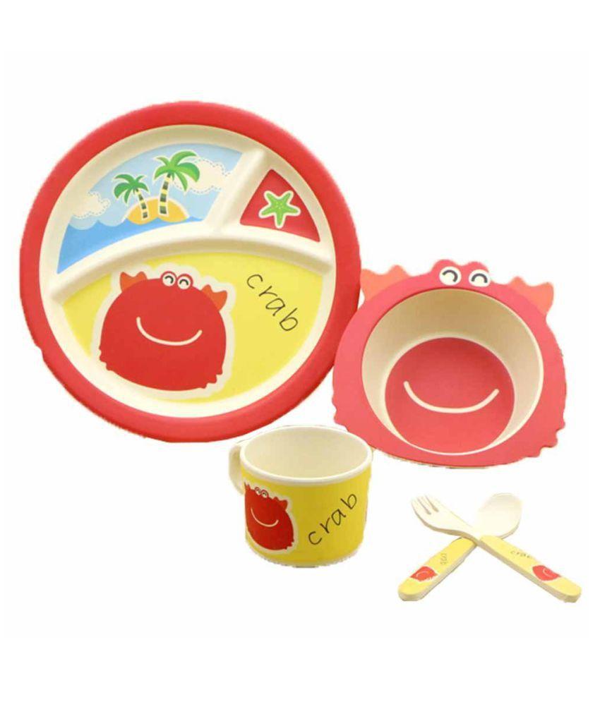 EZ Life Kids - Beach Fun Bamboo Dinner Set of 5 Pieces