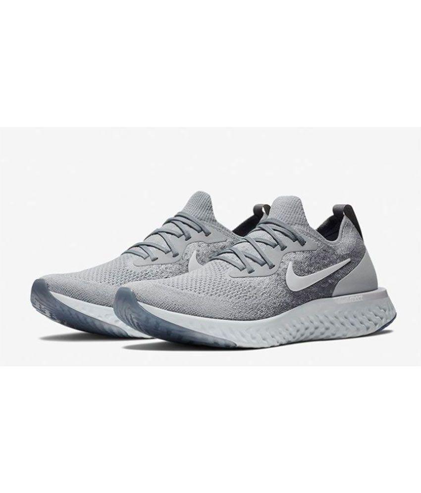 best sneakers ee664 ae731 Nike Epic React Gray Running Shoes Nike Epic React Gray Running Shoes ...
