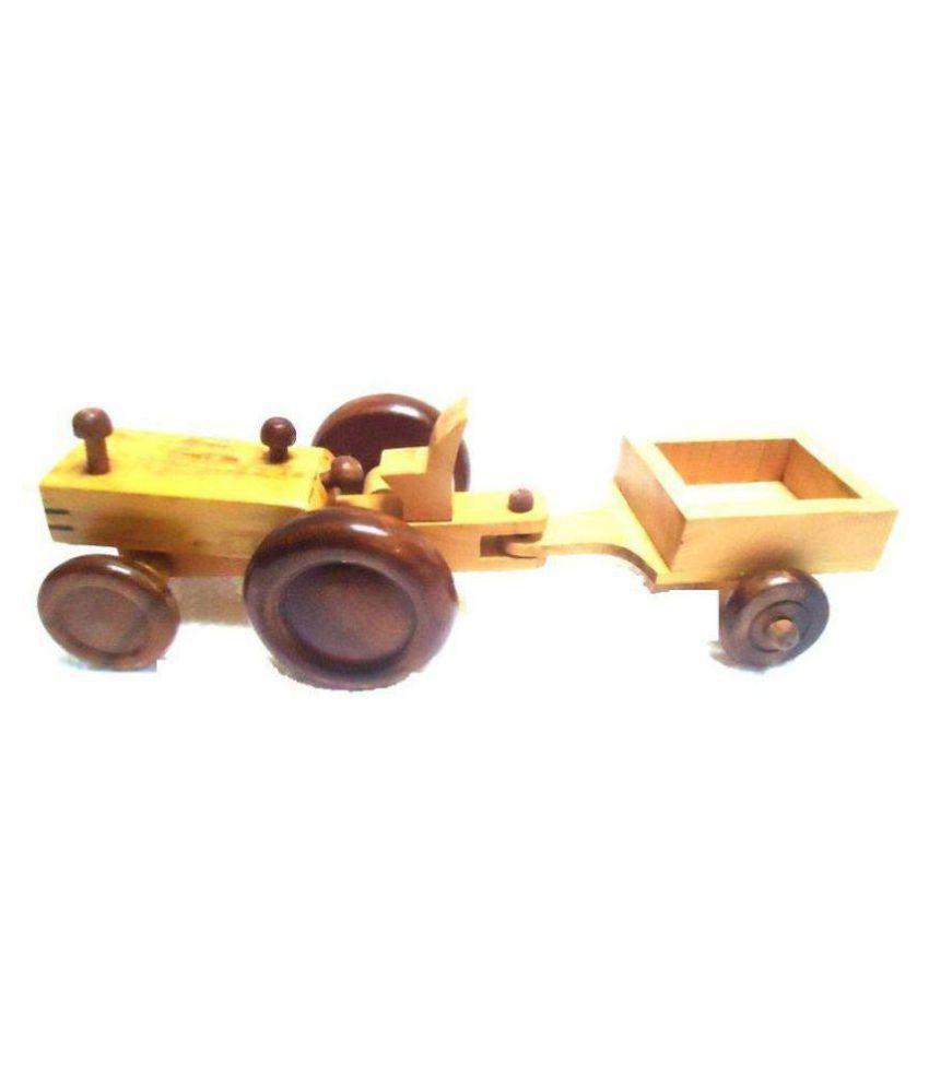 Aafiya Handficrafts Multicolour Wood Craft Toys - Pack of 1