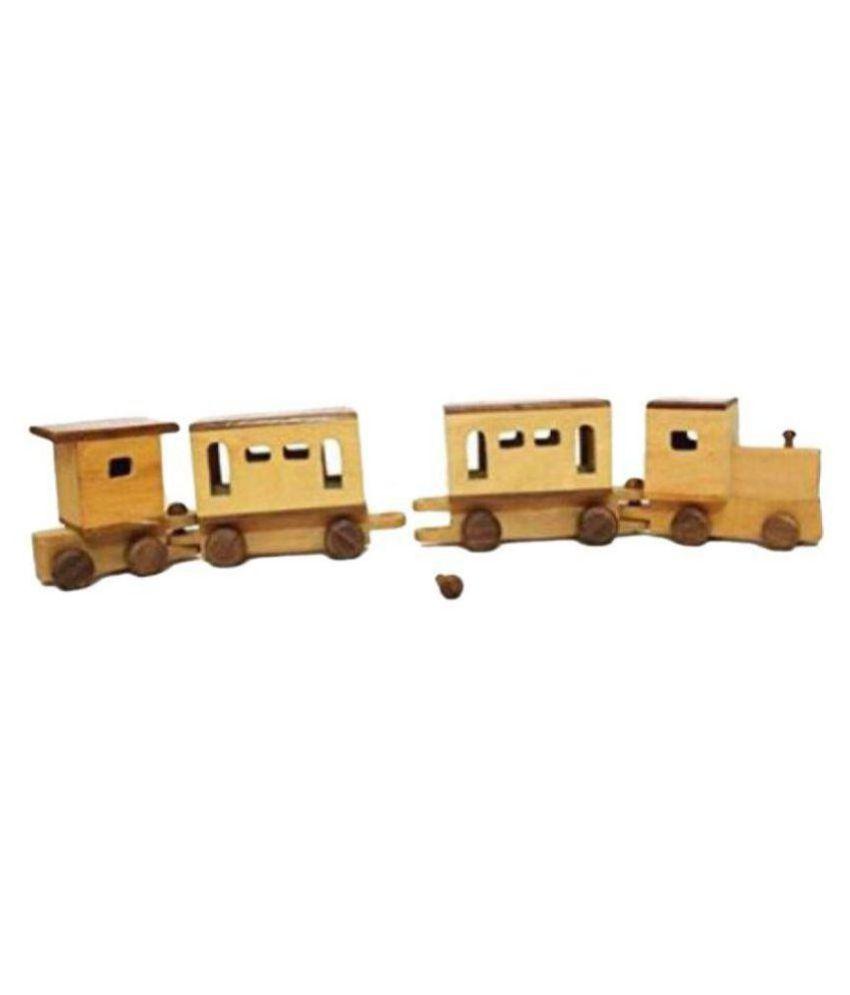 Aafiya Handicrafts Multicolour Wood Craft Toys - Pack of 1