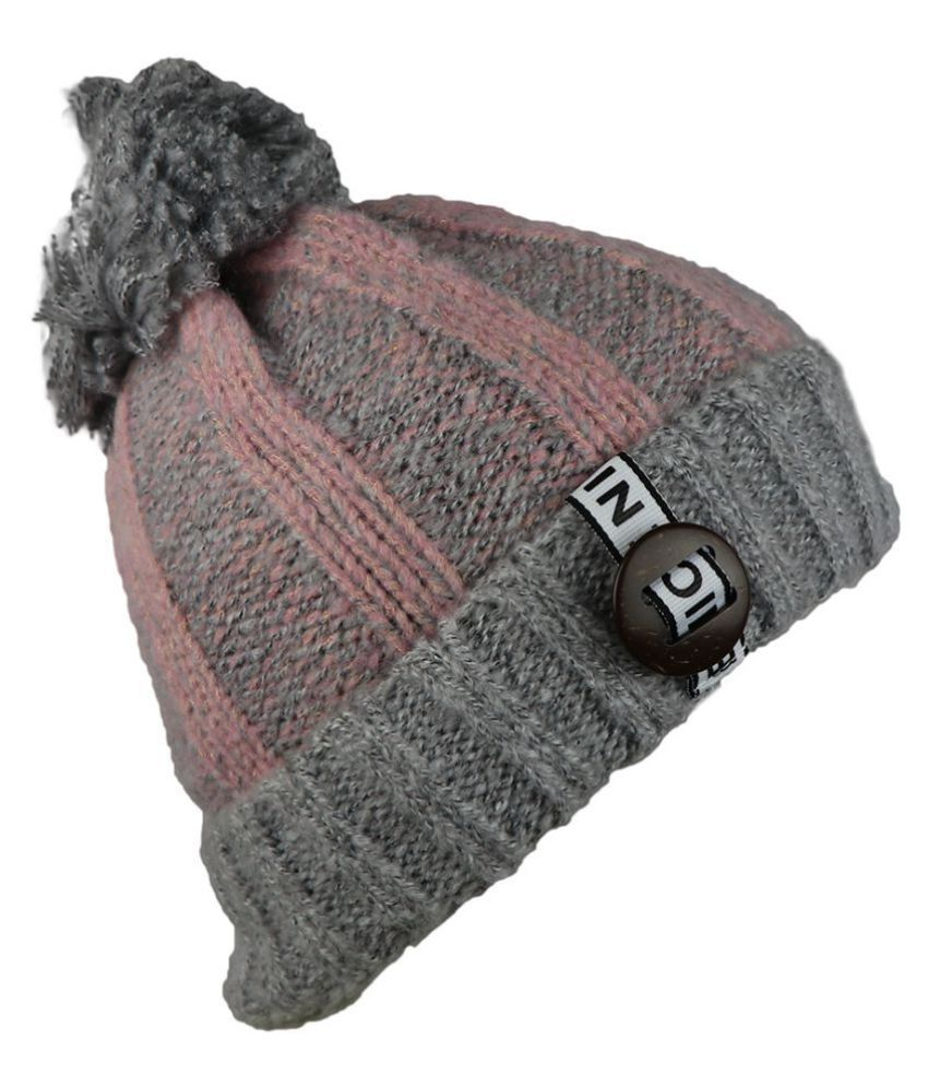 iSweven Fashionable Woolen Beanie Cap For Women  40846844dc9b
