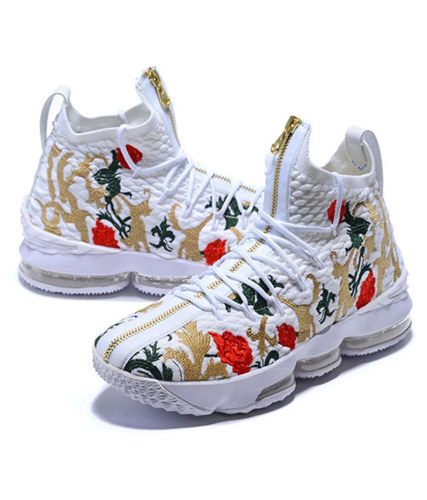 "innovative design dac8f c8ae9 Nike LeBron 15 ""King's Crown"" 2019 White Basketball Shoes"