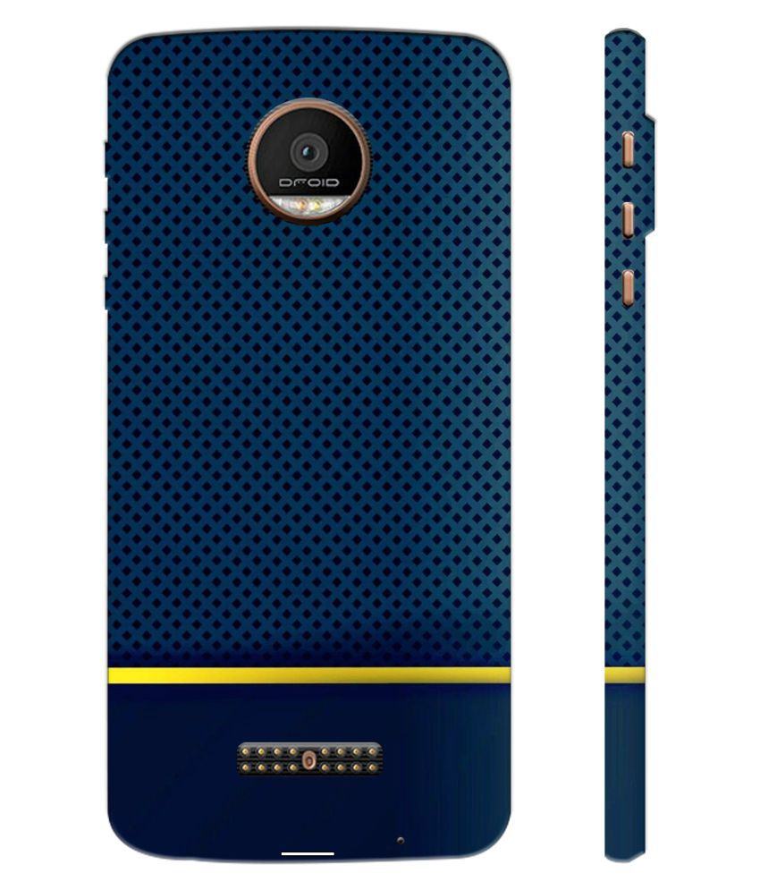 new product 2c12e fdc72 Moto Z Force Printed Cover By Fundook 3d Printed Cover