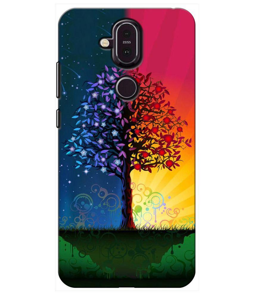 Nokia 8.1 Printed Cover By Sei Hei Ki