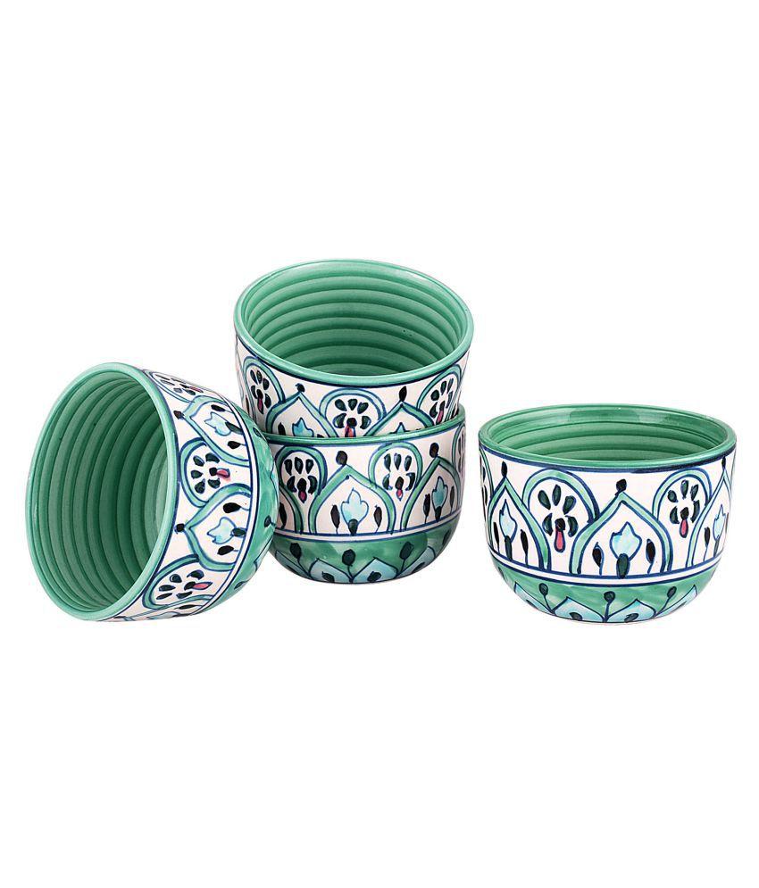 Kittens 4 Pcs Ceramic Snacks Bowl 300 ml
