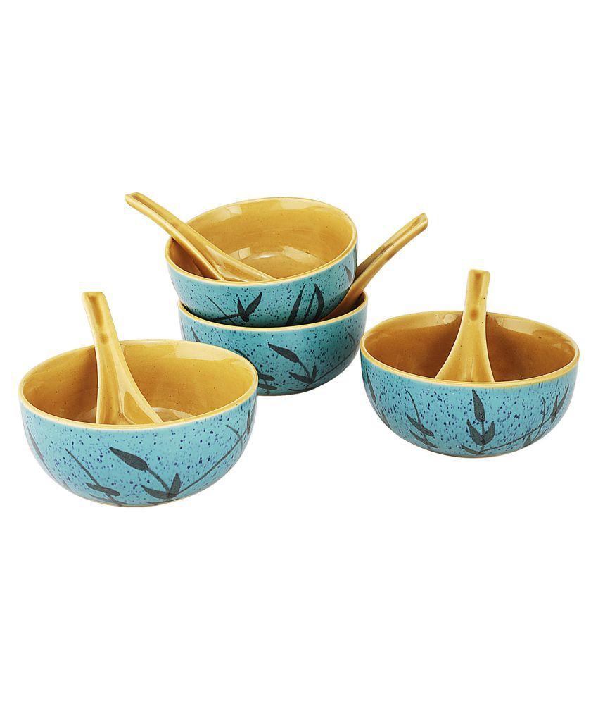 Kittens 4 Pcs Ceramic Soup Set 300 ml