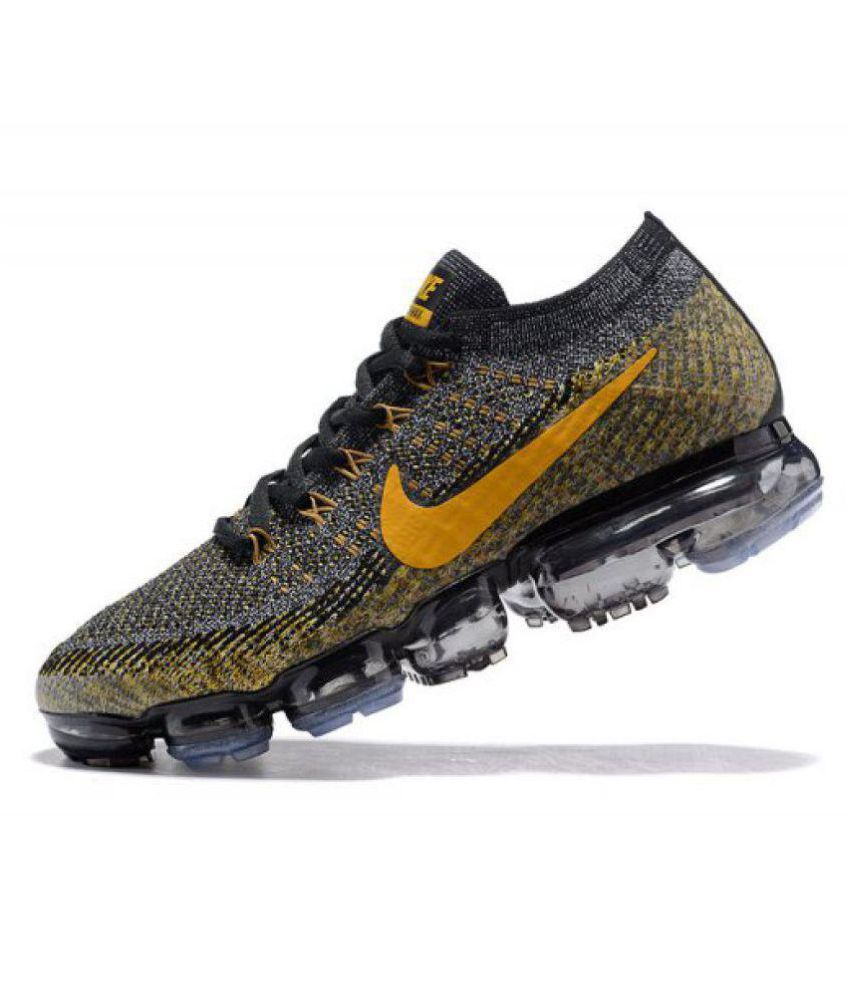 31ec8ddfcfbab Nike Air Vapormax Black Running Shoes - Buy Nike Air Vapormax Black ...