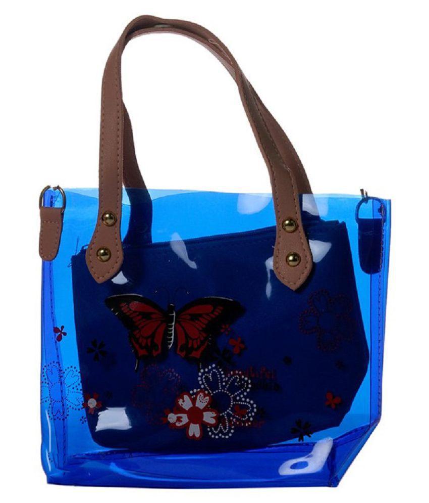 JGShoppe Blue Polyster Shoulder Bag