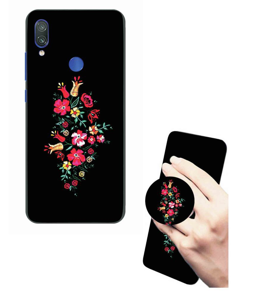 uk availability a76a9 bc234 Vivo Y81 Back Cover & Pop Holder Combo By VINAYAK GRAPHIC