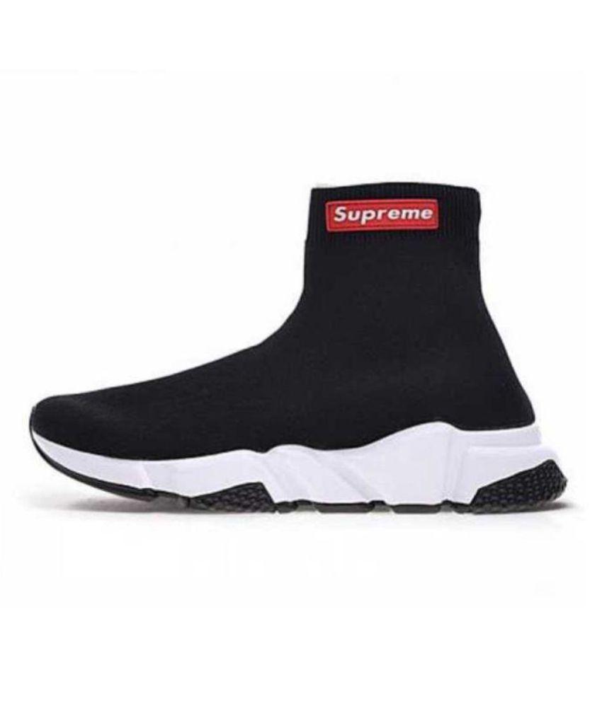 Balenciaga Black Running Shoes - Buy