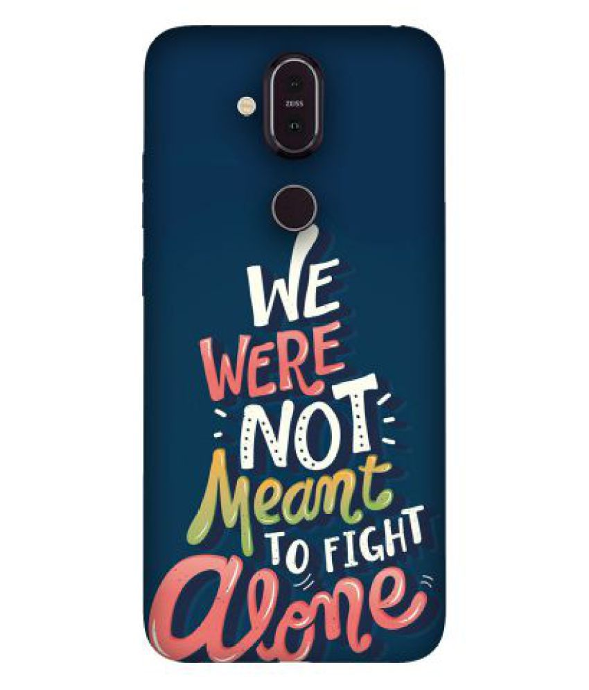 Nokia 8.1 Printed Cover By Emble
