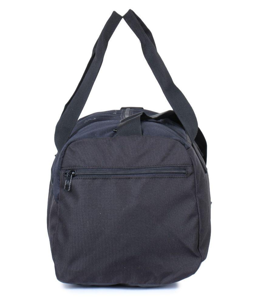 Reebok Black Solid Duffle Bag - Buy Reebok Black Solid Duffle Bag ... 2d516cb5a70f4