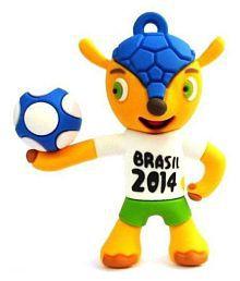 XElectron ® Brasil Football World Cup Shape Designer 8GB USB 2.0 Fancy Pendrive Pack of 1