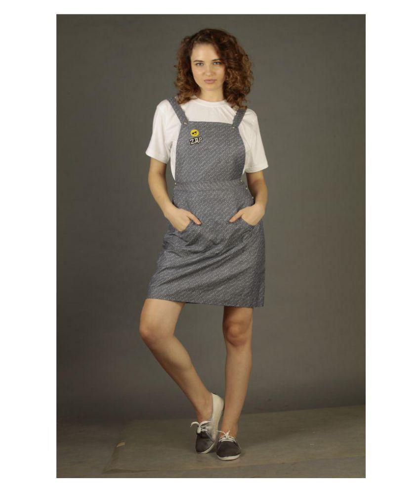 armaan khan designs Grey Cotton Jumpsuit