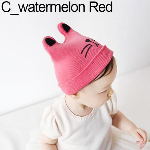 09cbdac8 Baby Toddler Girl Boy Cute Rabbit Ear Cat Knit Earflap Beanie Hat Warm Soft  Cap - Buy Online @ Rs. | Snapdeal