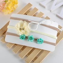 3Pcs/Set Baby Girls Infant Beauty Flower Bowtie Headband Hair Band Accessories