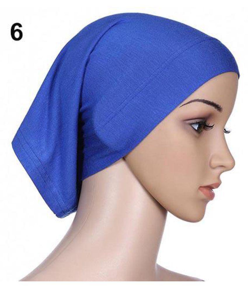 Muslim Women s Hijab Underscarf Stretchable Head Scarf Bonnet Cap Head Wear  - Buy Online   Rs.  e28ff5dc6fe3