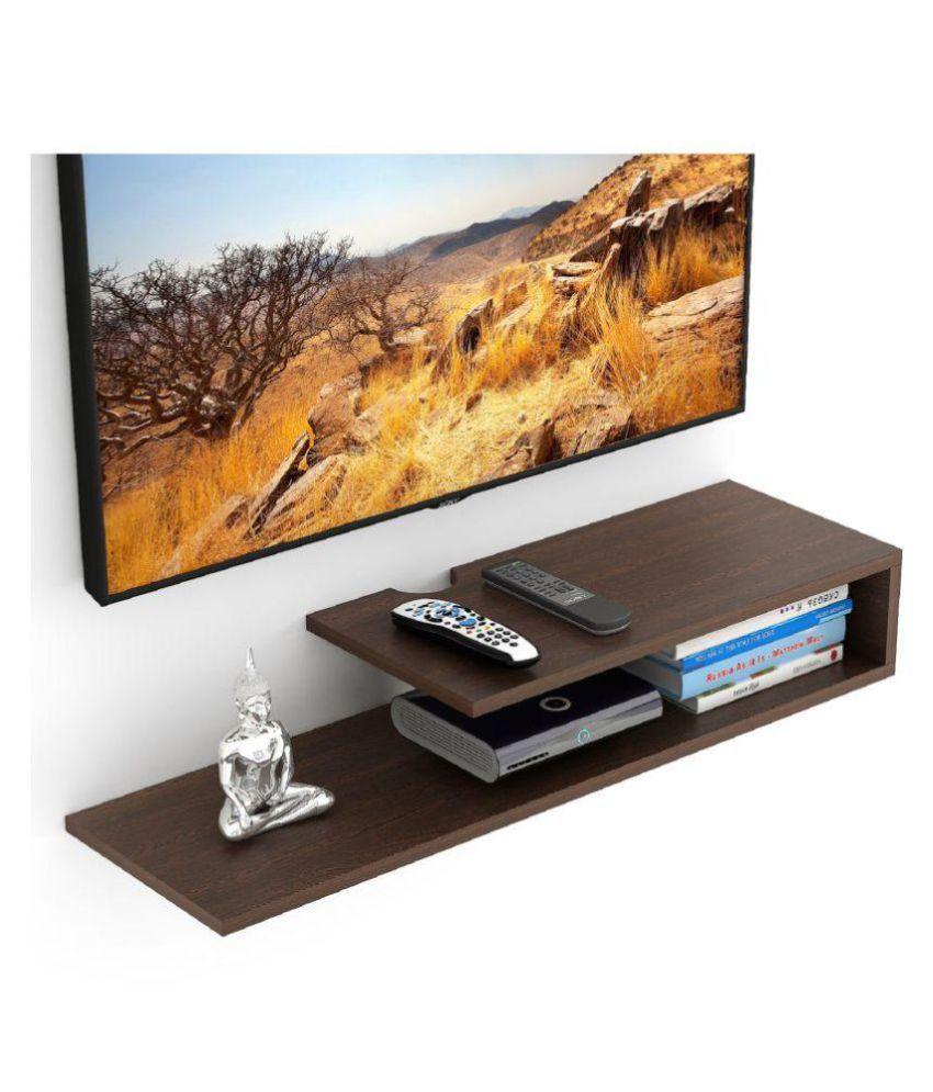 bluewud kunsua tv entertainment unit wall set top box stand shelf rh snapdeal com