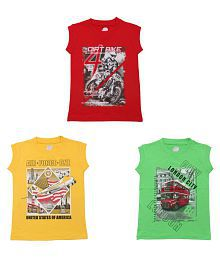 9bce793d9 T-Shirts for Boys: Buy Boy's T-Shirts, Tees Online at Best Prices in ...