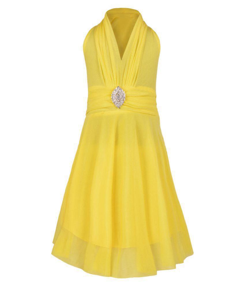 Aarika Net A-Line Dress