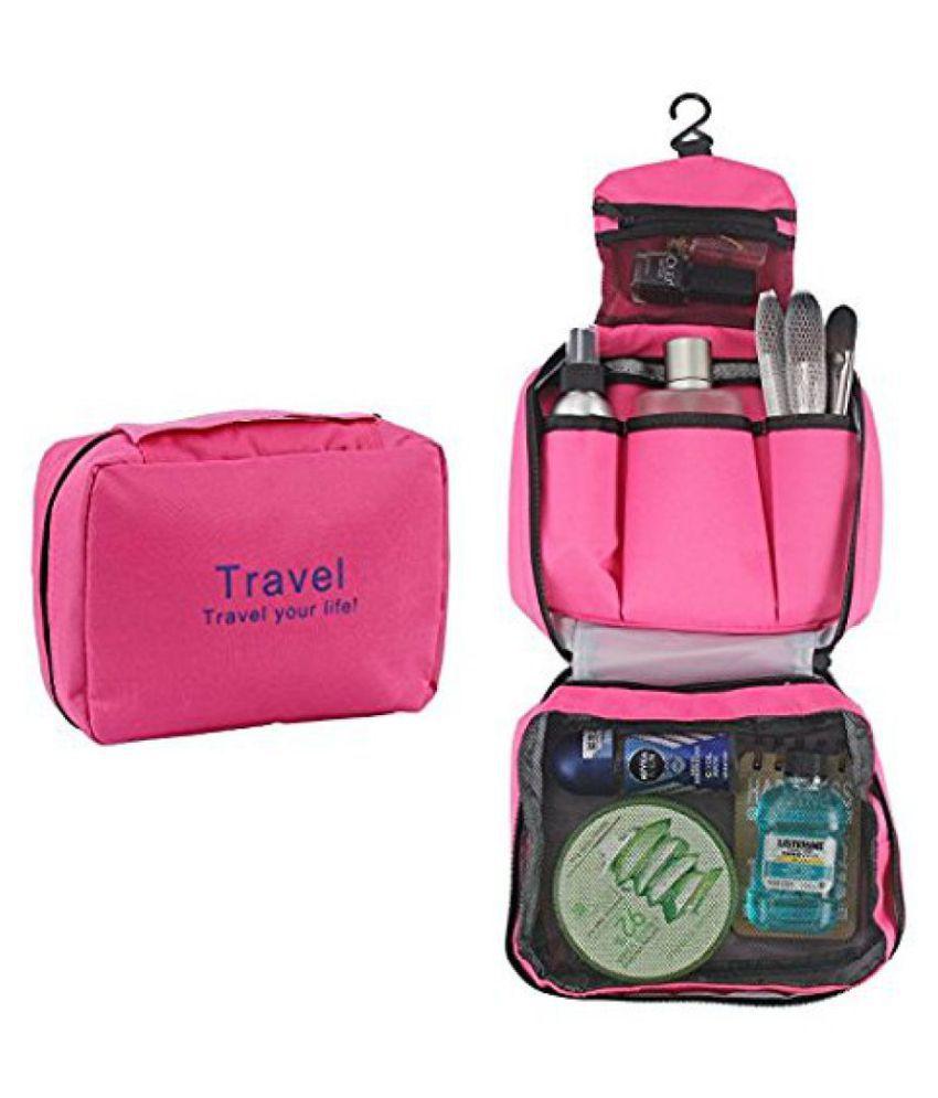 Everbuy Pink Travel Toiletry Kit
