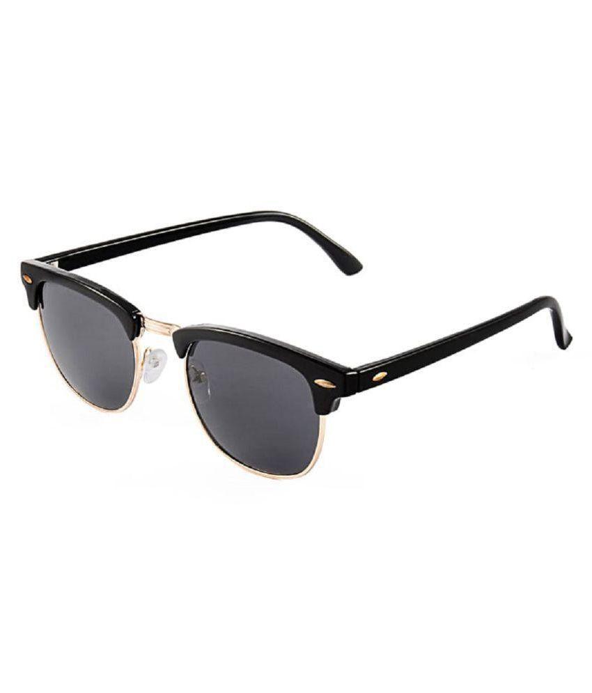 Adrian - Black Clubmaster Sunglasses ( BCM-5660-60 )