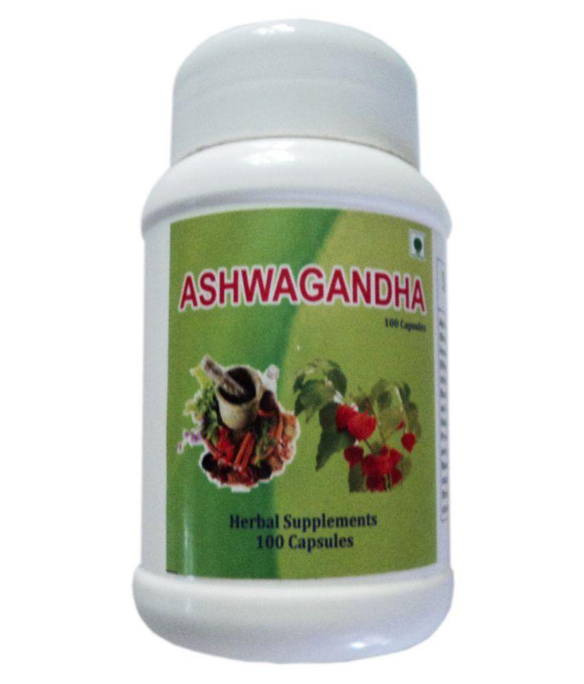 BioMed Ashwagandha Capsules Capsule 100 no.s Pack Of 1