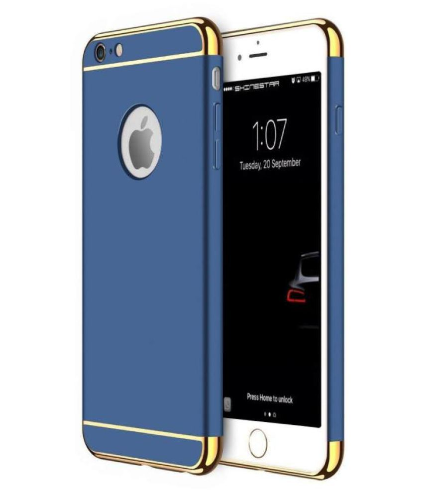 Apple iPhone 6 Plain Cases Bright Traders - Blue
