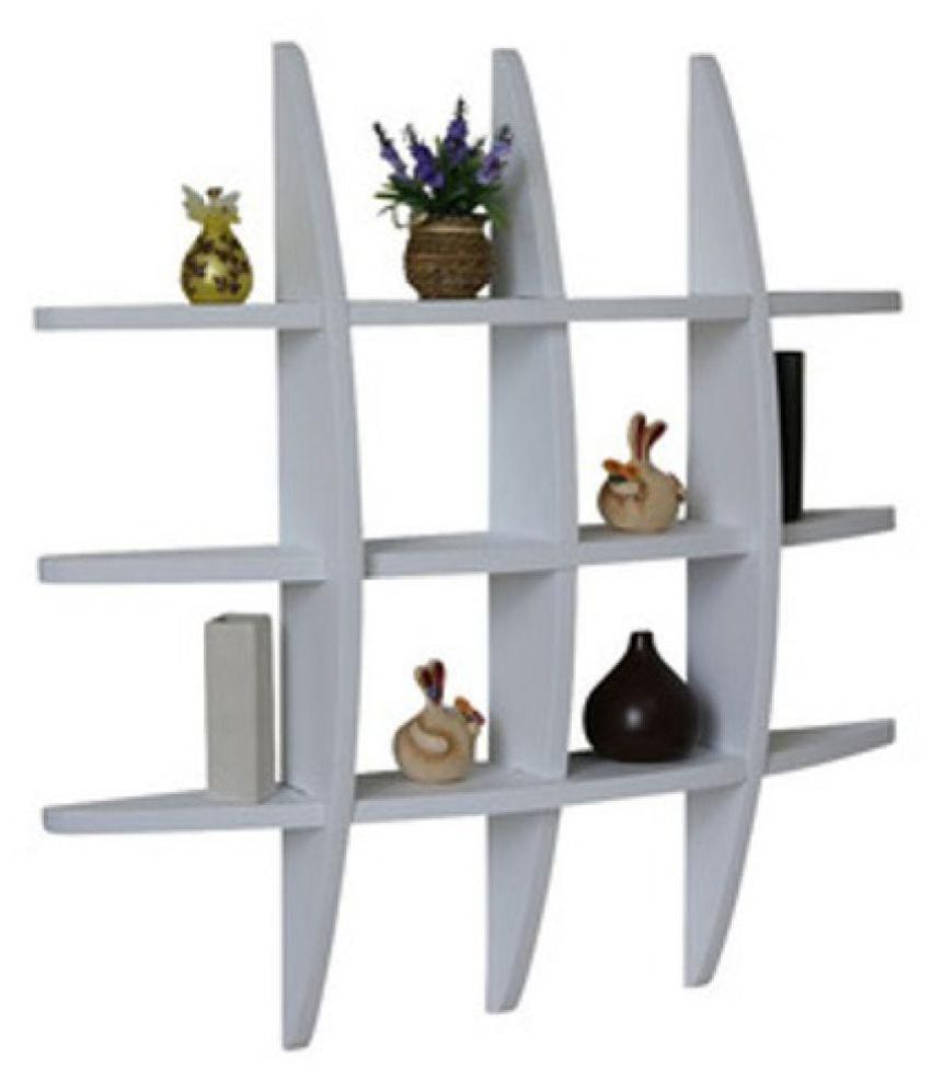 The New Look Multi-section Wall Shelf