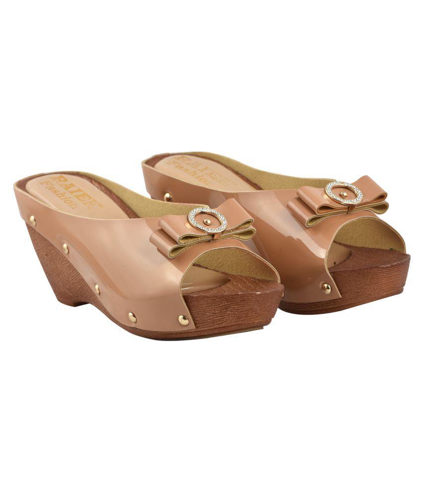 raien fashion White Wedges Heels