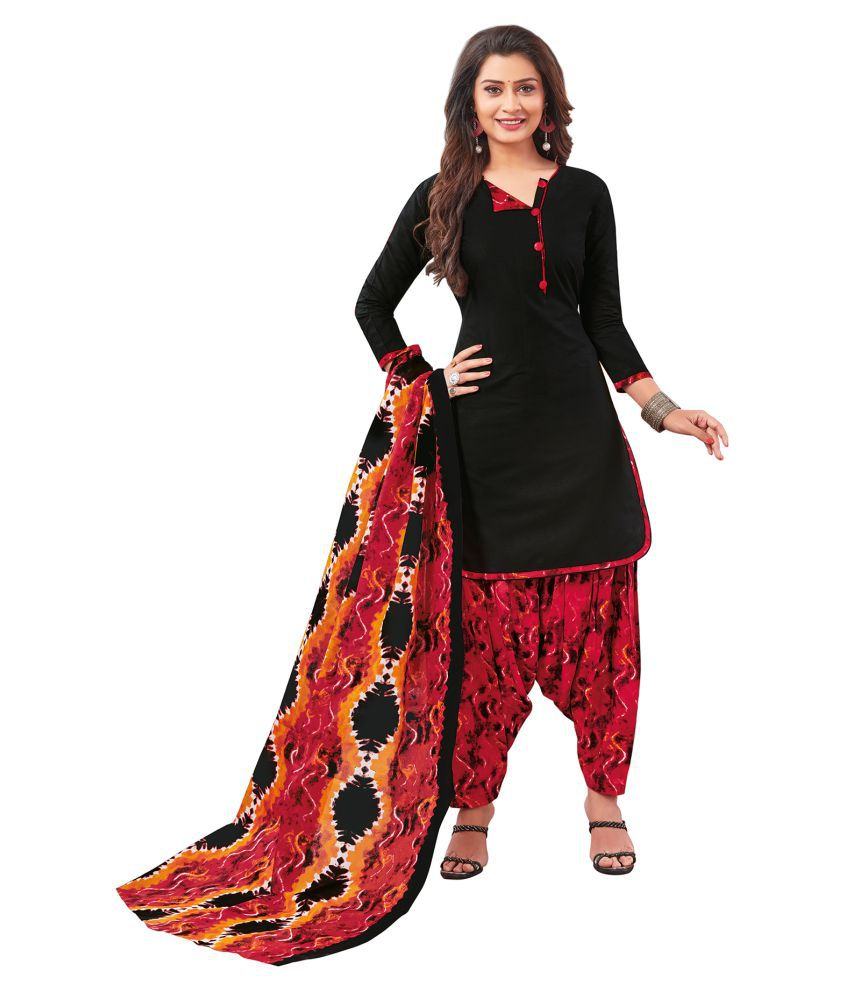 Salwar Studio Cotton Kurti With Salwar - Stitched Suit