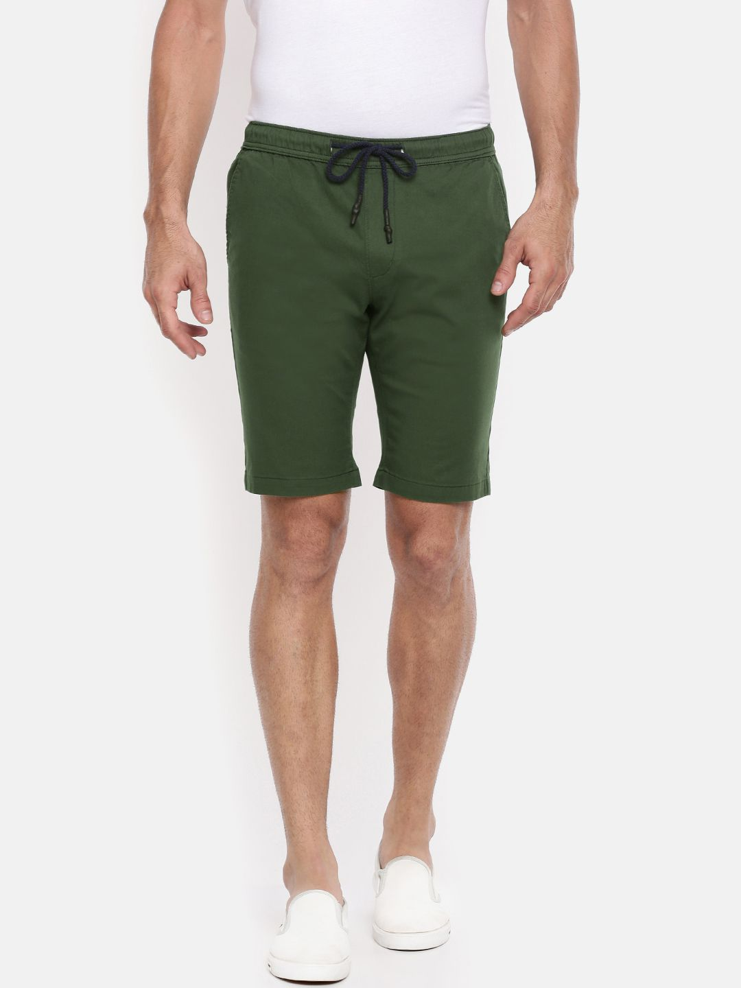 The Indian Garage Co. Green Shorts