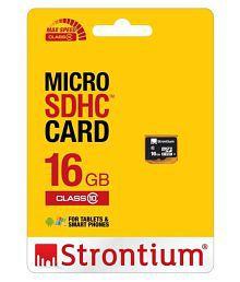 Strontium 16 GB Class 10 Memory Card