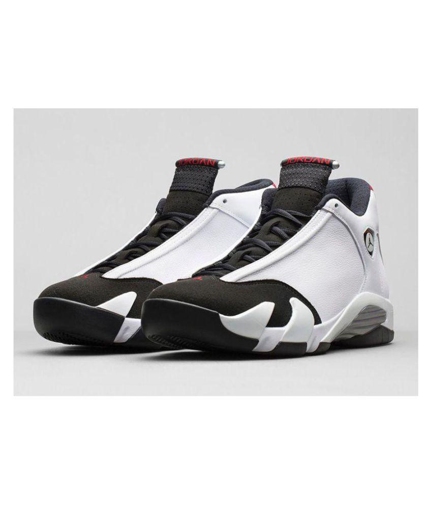 quality design d3f68 d333f Nike Air Jordan 14 Ferrari White Black Midankle Male White
