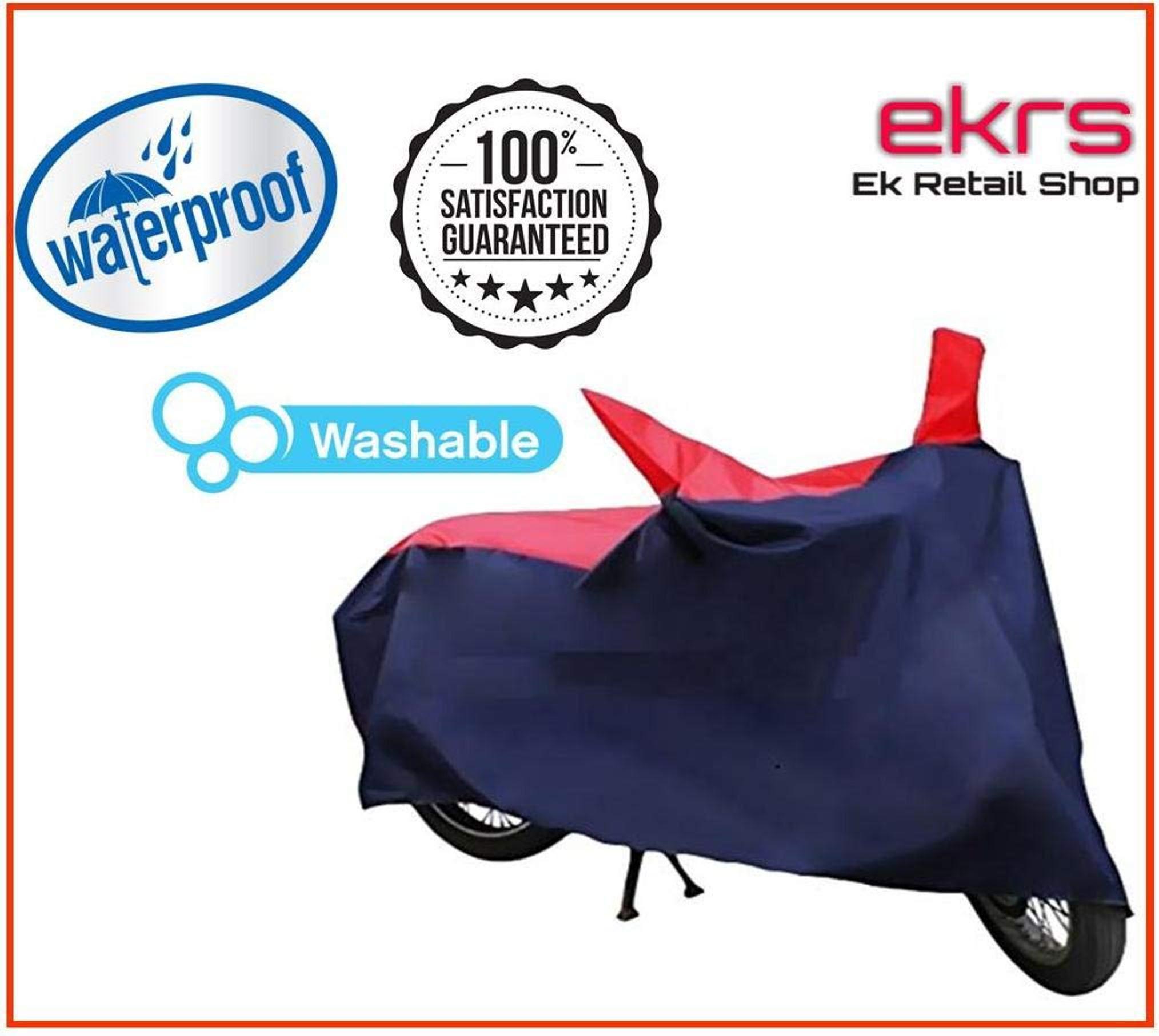 EKRS Nevy/Red Matty Waterproof Bike Body Cover for Honda CBR1000RR Fireblade