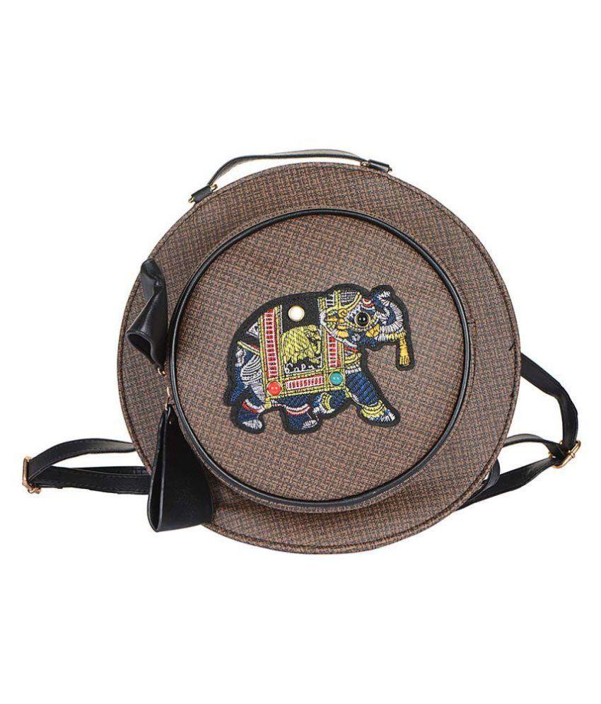 Stripes Cute Backpack Creative Hat Design Handbag Cross Body Bag For Teens Girls Women Bag Beach Bag School Bag