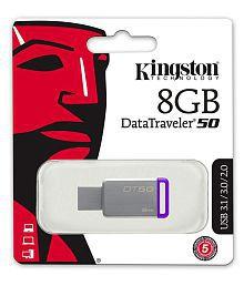 SOMOTO Kingston DataTraveler 8GB USB 3.1 Utility Pendrive Pack of 2