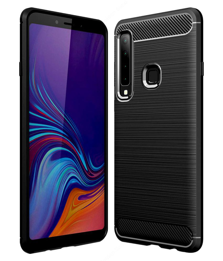 Samsung Galaxy A9 2018 Hybrid Covers Hopsack - Black