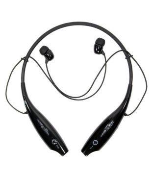 Jack Blue HBS730 Bluetooth Headset   Black