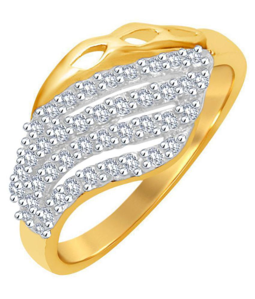 MJ Classic CZ Gold Plated Ring For Women(1678LRMJF00)