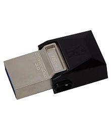 SOMOTO Kingston MicroDuo 16GB USB 3.1 Utility Pendrive Pack of 3