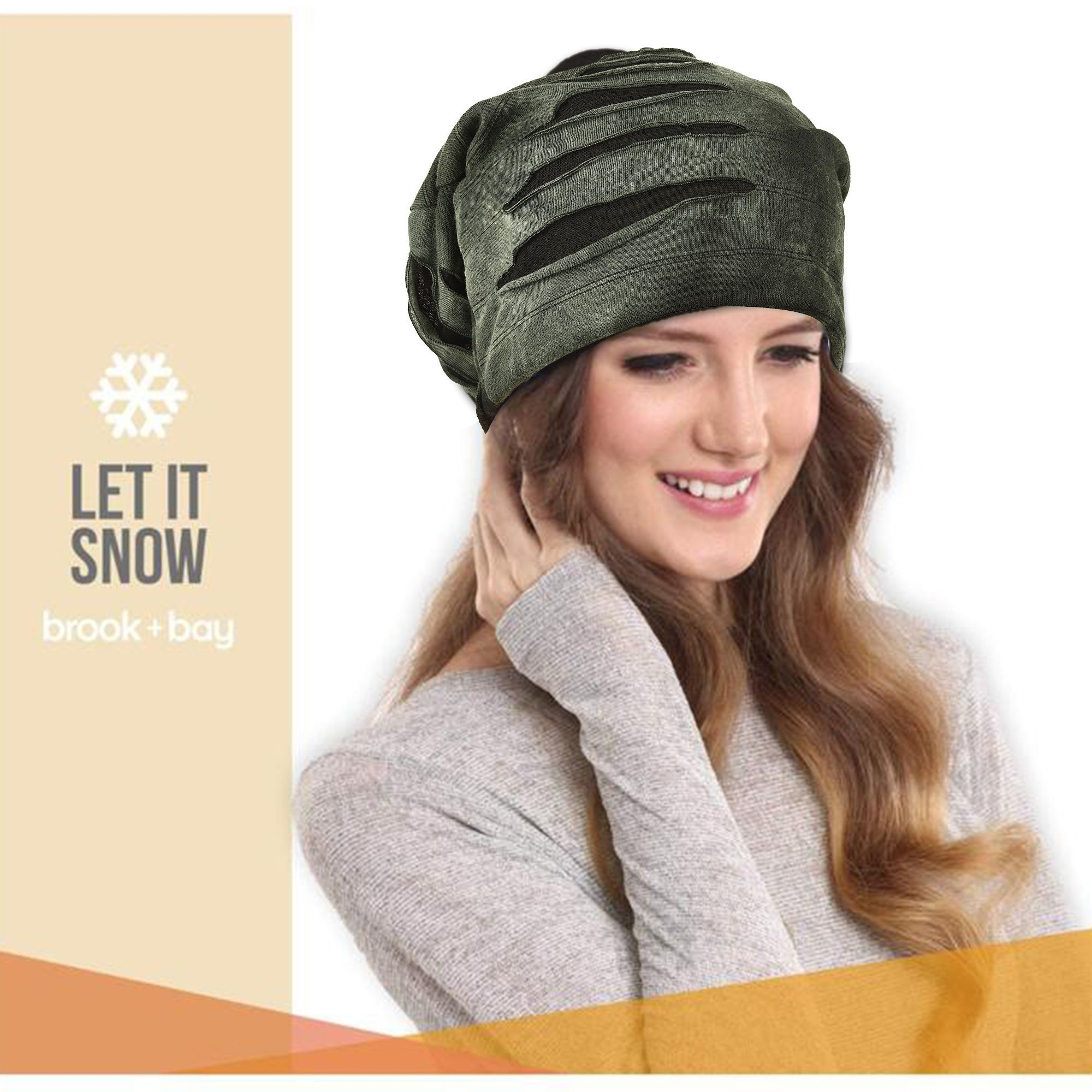 99df3ddd DRUNKEN Men Women Slouchy Torn style Beanie Skull Cap Hat All Season Khaki:  Buy Online at Low Price in India - Snapdeal