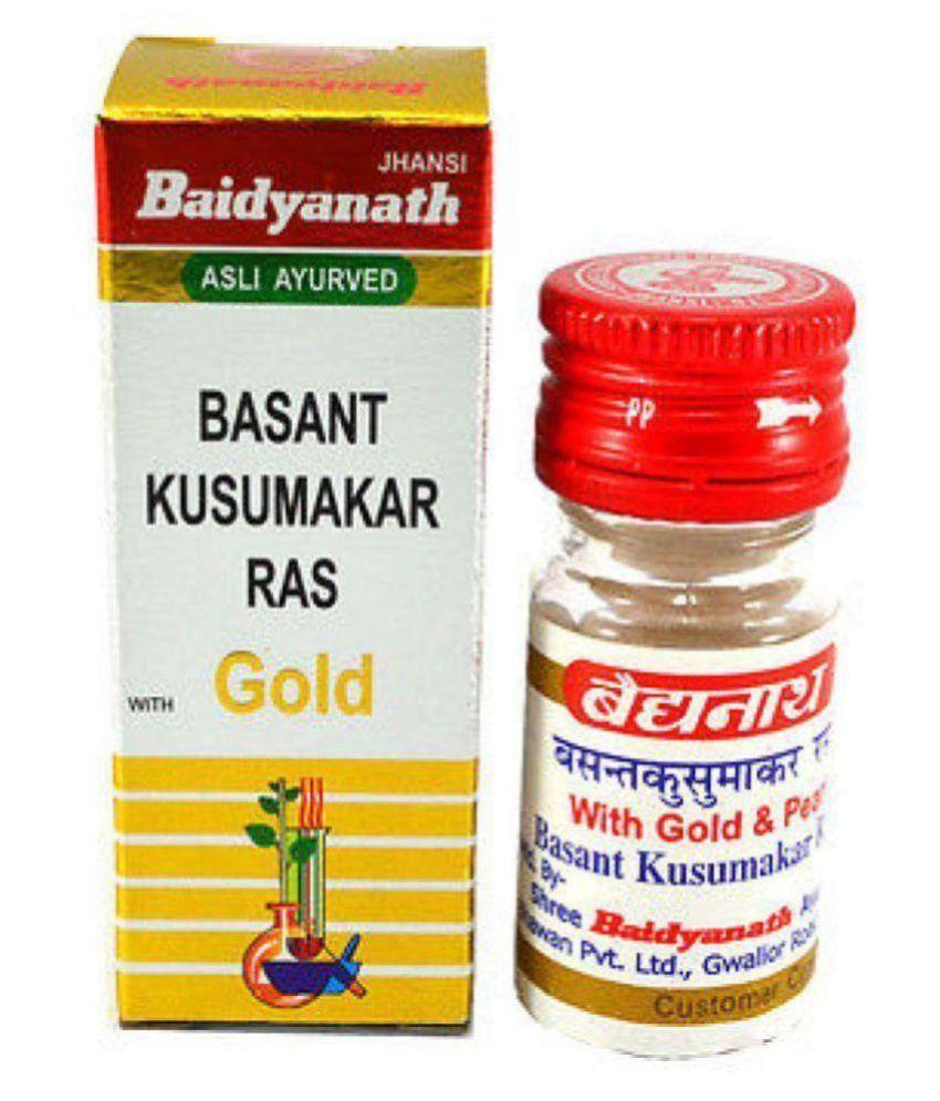 Herbalshoppe Baidyanath Basant Kusumakar Ras Tablet 25 no.s
