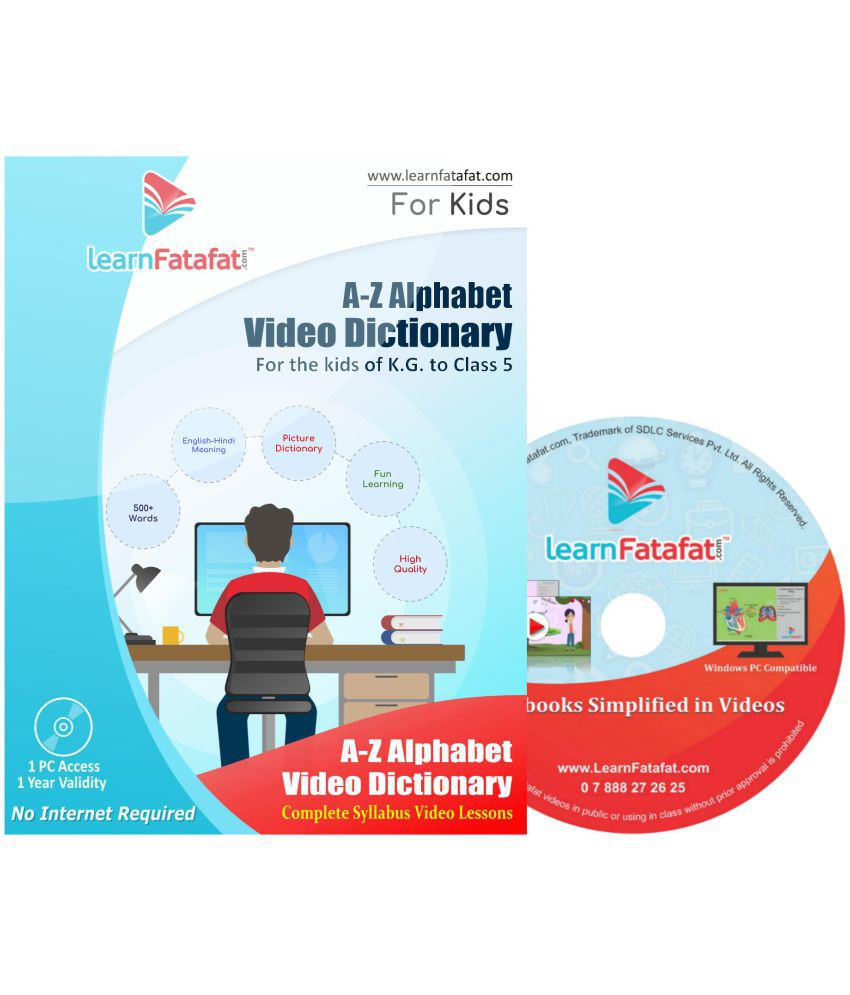 LearnFatafat Basic English Grammar Course for Kids DVD