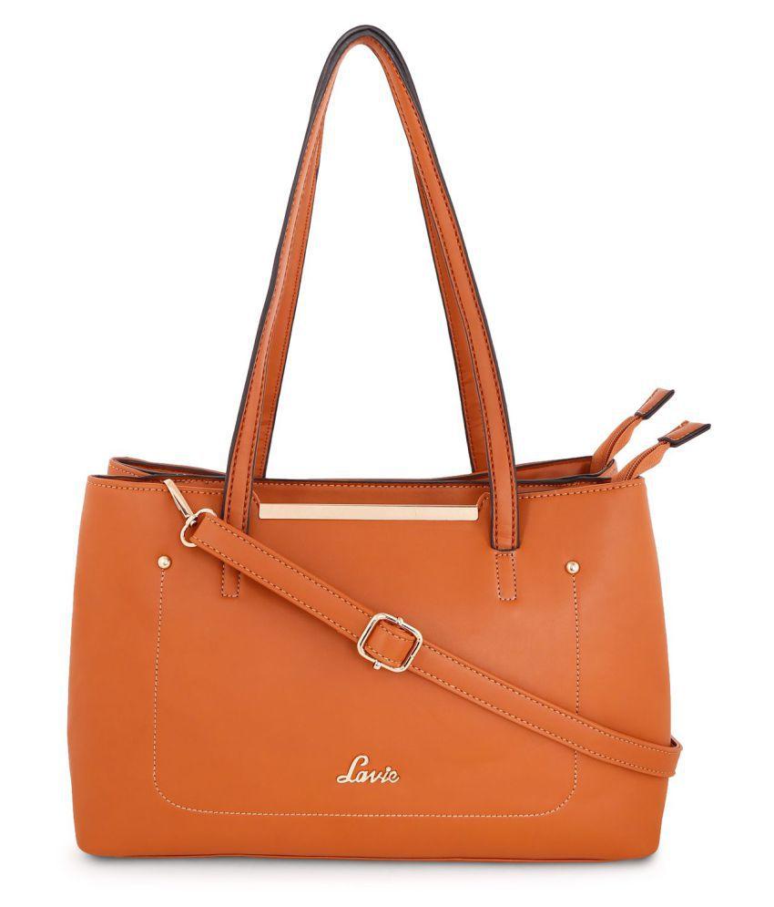 Lavie Brown P.U. Shoulder bag