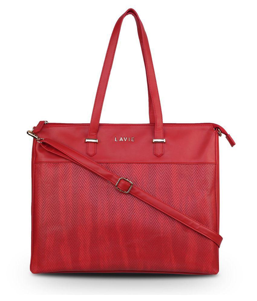 Lavie Red P.U. Handheld