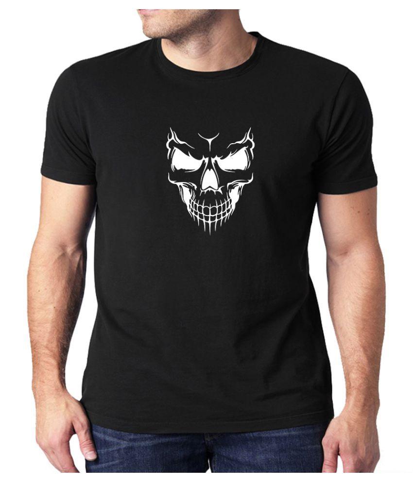 The Heyuze Haat Black Half Sleeve T-Shirt Pack of 1