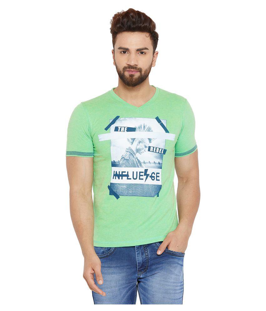 Duke Green Half Sleeve T-Shirt